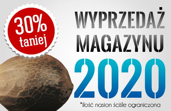 Wyprzedaż magazynu 2020